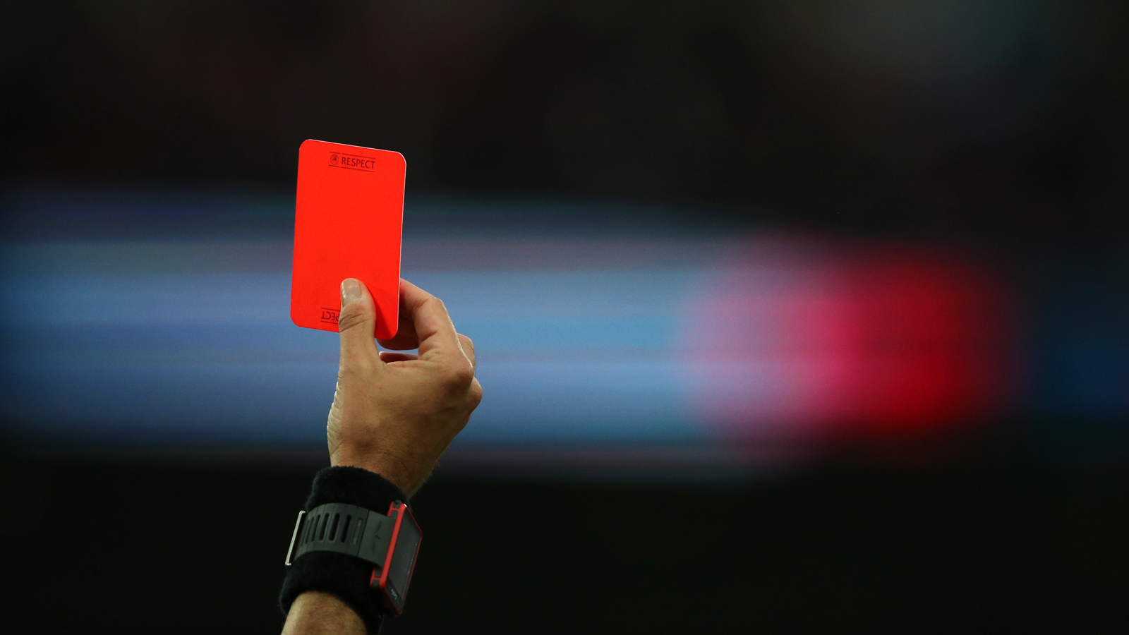 Red card football