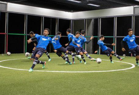 Footbonaut practice