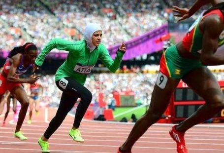 Women Running Olympic Games