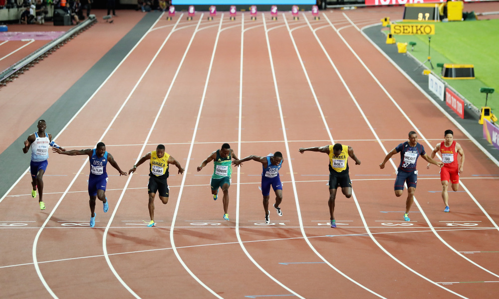 Historical & Predictive Analysis for the 100m Sprint Race