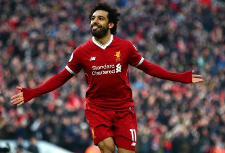 Mo Salah goal celebration