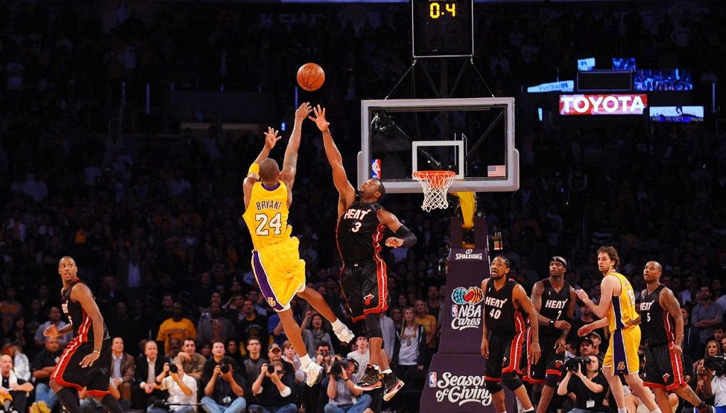 Kobe Bryant Buzzer Beater